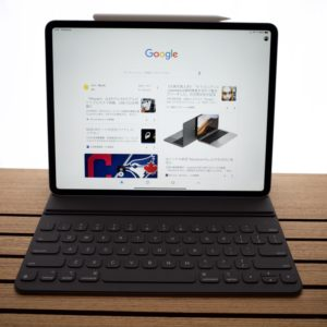 Smart Keboard Folio、iPad